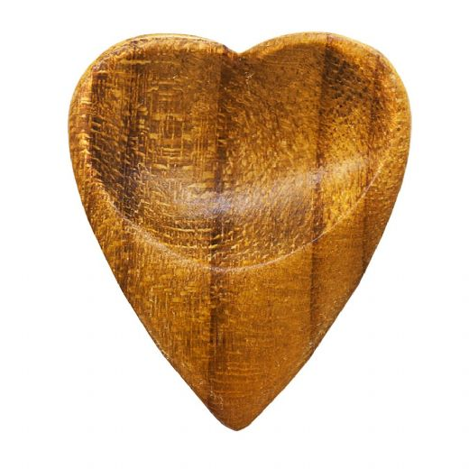 Heart Tones Indian Teak 1 Guitar Pick